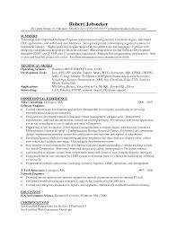 Sample Network Engineer Resume by 100 Software Engineer Resume Template Software Engineer