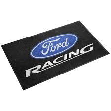 ford logo gift house floor mat 19