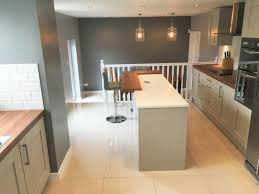 light grey shaker kitchen newton mearns