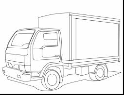 fabulous fire truck coloring pages printable dump truck