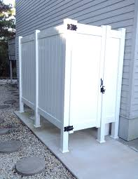 Outdoor Shower Ideas Marvelous Ideas Outdoor Shower Enclosure Kits New Outdoor Shower