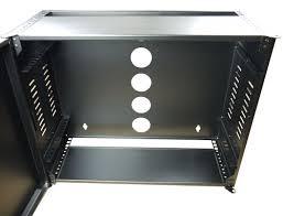 8u wall mount cabinet 4u to 8u slim low profile horizontal mount wall cabinets network