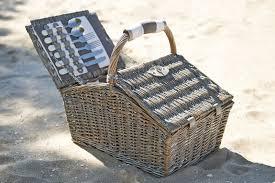 Picnic Basket Set For 4 Hamper Picnic Basket Bed Bath N U0027 Table