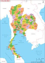 map of thailand thailand map map of thailand thailand provinces map