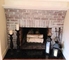 Whitewashing A Fireplace by Painted Brick Fireplace The Power Of Whitewash White Washed