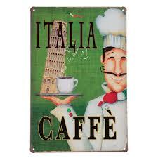 home sign decor coffee menu vintage tin sign bar pub cafe home wall decor retro