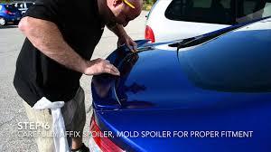 2013 ford fusion spoiler 2013 ford fusion spoiler installation