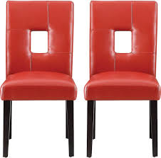 Red Leather Kitchen Chairs - best 25 red dining chairs ideas on pinterest polka dot chair