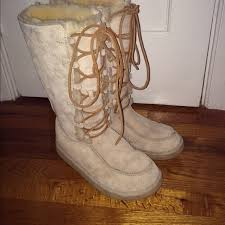 womens ugg boots with laces 52 ugg shoes lace up ugg boots from