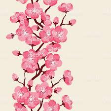 japanese wedding backdrop japanese seamless pattern with stylized flowers background