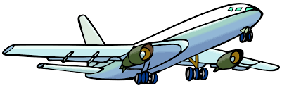 airplane clipart outline airplane jet clipartandscrap