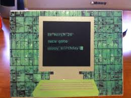 minecraft s day cards birthday card for programmer happy birthday with programming text