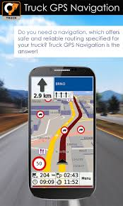 gps navigation apk truck gps navigation by aponia android apps on play