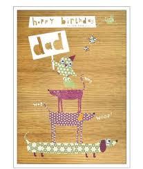 dad birthday cards cinnamon aitch birthday cards dad greeting