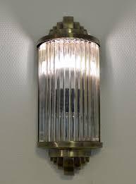 Esszimmer Lampe Bauhaus Art Deco Glasstäbchen Wandleuchte Bauhaus Lampe Wandlampe Antik