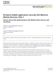 mo mobile application security bluemix mobile services 1 trs pdf