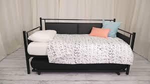 bedroom design excellent upholstered daybed with soft bedding for