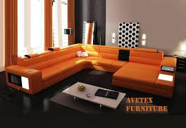 Most Comfortable Leather Sofa West Elm Armless Sectional Italsofa Leather Sofa Terracota