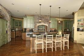 Home Plans With Photos Of Interior by Home Plans With Big Kitchens At Dream Home Source Big Kitchen