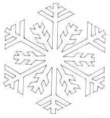easy snowflake drawing snowflakes coloring page barriee drawing