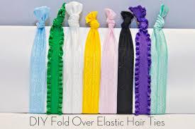 elastic hair ties the spohrs are multiplying diy fold elastic headbands hair ties