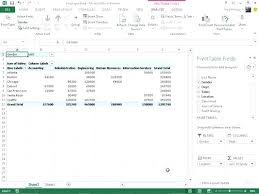 tutorial pivot table excel 2013 pivot table in excel 2013 standardbaku club