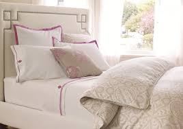 cream and white bedroom classic bedroom with cream white bedding pink bedding classic