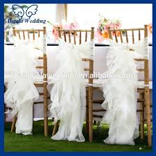 cheap chair sashes wedding chair sashes chic ivory wedding chair sash decoration by