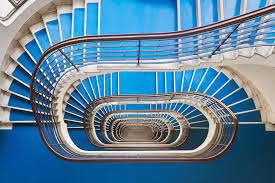 Stair Cases Explore Budapest U0027s Art Deco And Bauhaus Staircases Through This