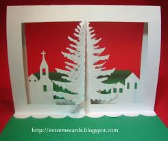 3d christmas cards cards and papercrafting 3d christmas tree pop up card