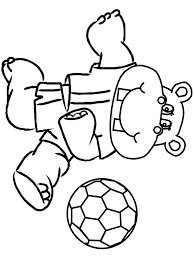 soccer coloring pages coloring kids clip art library