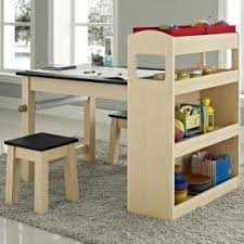 toddler activity table with storage foter