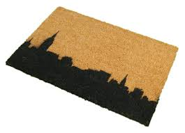 Buy Artsy Doormats Wipe Your Artsy Doormats New York Skyline Doormat U0026 Reviews Wayfair Co Uk