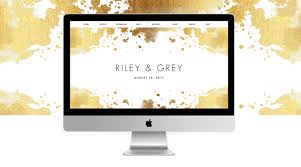 luxury wedding websites riley u0026 grey