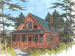 small 3 bedroom lake cabin with open and screened porch small lake house plans cottage rustic split bedroom six large 2