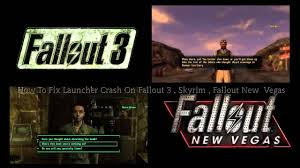 Fallout Nv Map by How To Fix Launcher Crash On Fallout 3 Skyrim Fallout Nv Youtube