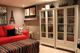 Ikea Basement Ideas Ikea Basement Ideas Basement Modern With White Sectional Sofa