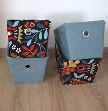 storage diy ideas how to cover a box with fabric