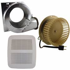 broan nutone replacement fan motor kits nutone products nutone qt80nb bath fan repair replace or upgrade