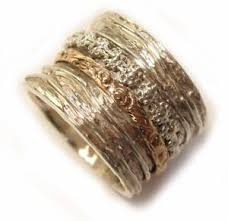 wide wedding bands wide wedding band spinner floral rings silver 925 gold 9k 20mm ebay