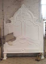 White Shabby Chic Bed by Painted Cottage Shabby French White Romantic Bed Shabby Chic Bed
