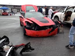 corvette car crash 2015 chevrolet corvette z06 has crash on laguna seca