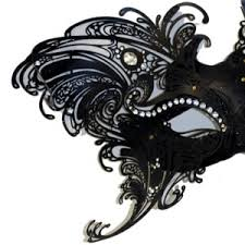 black and white mardi gras masks mardi gras mask covered in glitter or with glittery scroll work