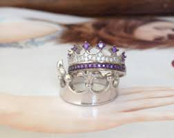 king and crown wedding rings king ring crown ring setgold crown by uniquenewline
