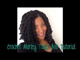 crochet weave hairstyles with bob marley bob haircut tutorial with crochet marley hair youtube