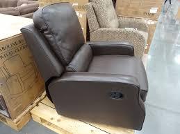 Glider Swivel Chairs Synergy Caroline Leather Recliner Swivel Glider