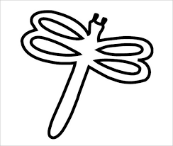 printable dragonfly stencils 18 dragonfly templates crafts colouring pages free premium