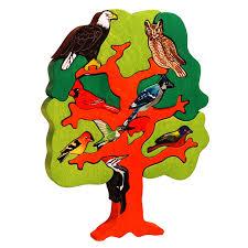 american bird tree puzzle montessori puzzles and toys