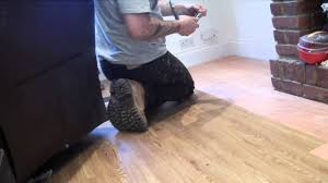 Karndean Laminate Flooring Handy Hubby Hire Laying Karndean Wood Strip Flooring Youtube