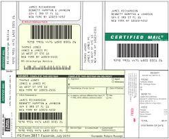 blumberg free certified mail software